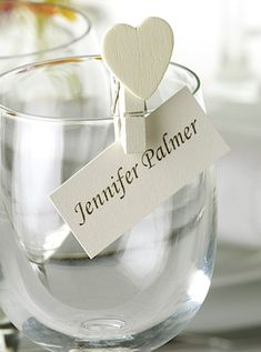 Wedding place card ideas | Decorations | Plan Your Perfect Wedding