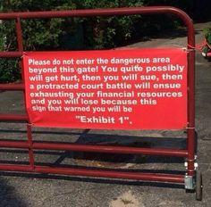 Consider yourself warned...