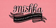 Mishka Font Poster