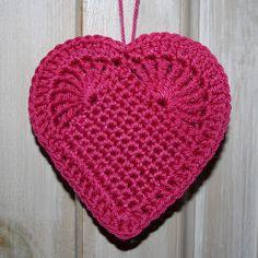 diagrama de corazon tejido a crochet - Buscar con Google