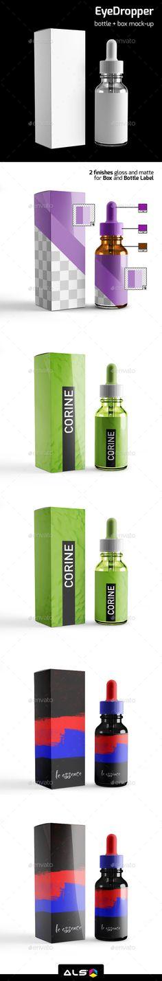 Eye Dropper Bottle Mock-up #design #mockup Download: http://graphicriver.net/item/eye-dropper-bottle-mockup/12050459?ref=ksioks