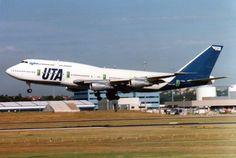 UTA French Airline B 747 - 300