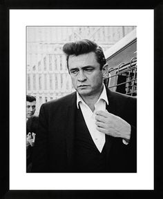 Johnny Cash Inside Folsom Prison print by Hulton Archive at Photos.com 2996498