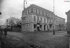 """Łódź - ul. Ogrodowa 13 - """"Arkadia"""" - fabryka cukru i czekolady (ok. 1940)"""