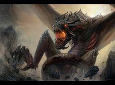 Dragon, Bogdan Marica on ArtStation at https://www.artstation.com/artwork/dragon-d74c8c64-3ca7-4176-88b7-a6713dbb439c