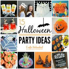 15 DIY Halloween Party Ideas