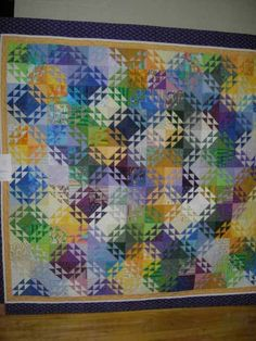 Harvest of Quilts 2006 Love the illusion of shimmering sea glass
