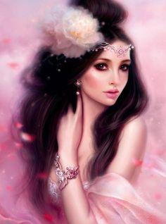 Princess in Pink • artist?  (have eliminated Melanie Delon and Cris Ortega so far)