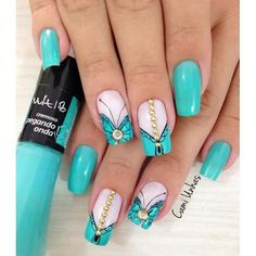 These nail designs will be your indispensable. Stamp this summer with the latest trend nail designs. these great nail designs will perfect you. Great Nails, Fabulous Nails, Love Nails, Pink Nails, Cute Nail Art Designs, Simple Designs, Latest Nail Art, Creative Nails, Manicure And Pedicure