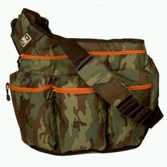 Diaper Dude Diaper Bag, Camouflage.
