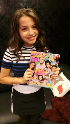 Isabella Moner, star of Nickelodeon's show '100 Things to Do Before High School,' stopped by to show M magazine some love!