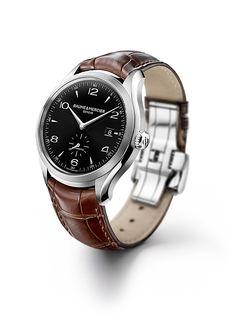 Baume&Mercier Watches for Men   Clifton 10100 automatic steel watch for men - Baume et Mercier