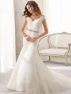 Mori Lee blu Bridal Dress 5210: DimitraDesigns.com