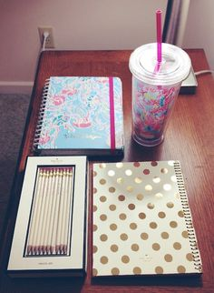 Back to school: the preppy way. I miss buying back to school supplies !! So cute