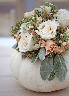 Вдохновение: тыква в декоре свадьбы