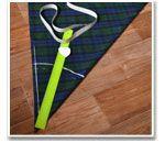 Построение выкройки юбки-полусолнце на ткани