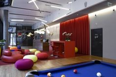 I wish more work places adopted this idea!  -Playful Google Headquarters in Zurich