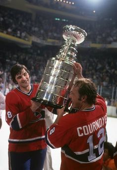 At the end of every hockey season, only one team gets to raise the Stanley Cup over their heads. All of them are great, but some of them are legendary. Here's the list of the greatest Cup winners of all time. Hockey Teams, Hockey Players, Ice Hockey, Hockey Stuff, Hockey Stanley Cup, Stanley Cup Champions, Montreal Canadiens, Hockey Highlights, Nhl Wallpaper