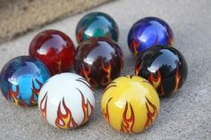 Flame Ball Shift Knob