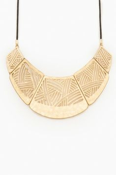 Harlow Ave Necklace. This is great with open necklines or worn a little shorter over a collared shirt!