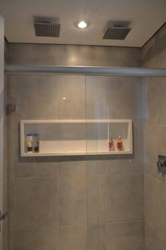 Shelf for the shower.