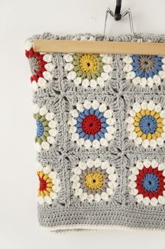 Little Boy Blanket, crochet pattern (see links in post for purchasing options) | Little Doolally ༺✿ƬⱤღ http://www.pinterest.com/teretegui/✿༻