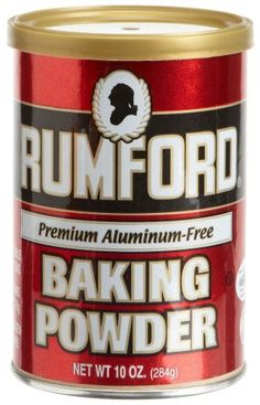 Rumford Aluminum Free Baking Powder, 8.1-Ounce Canisters (Pack of 6) *** Instant discounts available  : baking desserts recipes