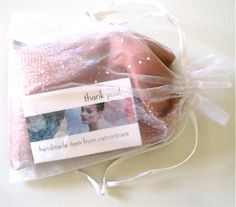 Peach lavender-filled eye pillow. Starting at $10 on http://tophatter.com/saturday-night-majick-auction TONIGHT at 7pm PDT 10pm EDT