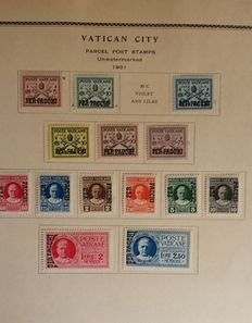 Vatican 1929/1954 - Collection on album pages