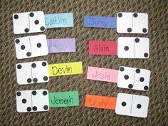 Floor decs theme: board games                 Door decs: dominoes!