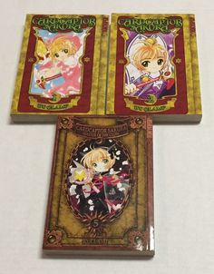 Cardcaptor Sakura 1-2 Master of The Clow 5 Clamp Manga Graphic Novels Book Lot  | eBay #cardcaptorsakura #cardcaptorsakuramasteroftheclow #masteroftheclow #clamp #clamp #anime #graphicnovel #booklot #books #lot