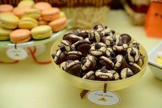 Candy acorns !  Custom Dessert Bar styled by Ganache. Like us at www.facebook.com/styledbyganache