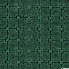 Deco Elegance - Patina Tiles - Pine Green