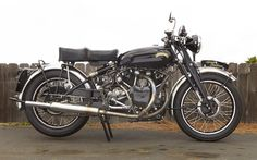 1950 Vincent Black Shadow Frame no. RC 11895 Engine no. F10AB/1B/10192