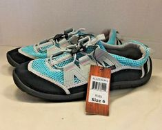 Boy/'s Youth NORTHSIDE Blue+Green Hiking Athletic Sport Sandals Casual Shoes NEW