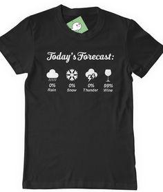 Funny Wine Tee Tshirt Humor T-Shirt T Shirt Tee Ladies by BoooTees