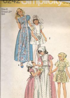 Flower Girl Communion and Prairie Dress and by DawnsDesignBoutique, $4.00