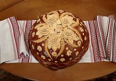 The Korovai (Ukrainian wedding bread) | Flickr - Photo Sharing! ALLRIGHTSRESERVED - TOESTEMMING NODIG