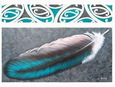 Kereru Gem by Auckland artist, Jo Bridge. Kereru is a wood pigeon native to New Zealand. Art-prints available from www.imagevault.co.nz