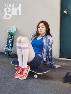 Lee Sung Kyung - Vogue Girl Magazine