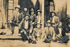 5d5935e6 True West Magazine. See more. Frank Hamer (back row, far left) is shown  with his Texas Ranger Company