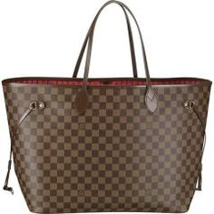 Louis Vuitton N51106 Handbag Neverfull GM Brown