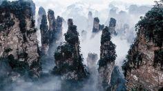 Núi Tianzi, Trung Quốc