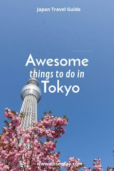 Awesome things to see and do in Tokyo