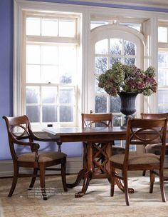 Good Intricate Woodworking Takes This Stickley Dining Room Set From Beautiful To  A Stunning Masterpiece. Fall