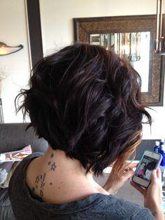 asymmetrical hair   Tumblr