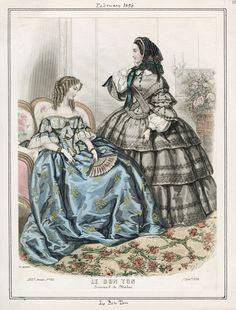 1856 (Feb.) Le Bon Ton / Los Angeles Public Library