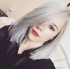 Silver hair. Wella Charm t14 toner.