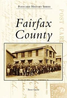 Map of Fairfax County Virginia. Wills, Estates ...