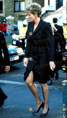 January Princess Diana at the St Christophers Fellowship Opening at Howard House, Hampstead. Photo By:dave Chancellor-alpha-Globe Photos, Inc Princess Diana Photos, Princess Of Wales, Peplum Dress, Shirt Dress, Prince Charles, Queen Of Hearts, Most Beautiful Women, January 21, My Idol